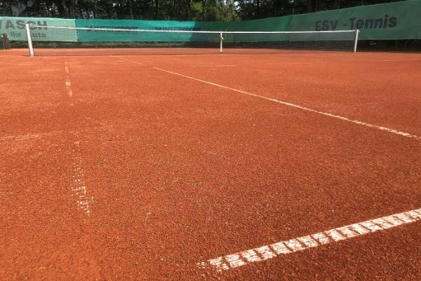 Tennisplatz in Melle-Eicken